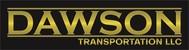 Dawson Transportation LLC. Logo - Entry #257