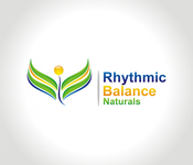 Rhythmic Balance Naturals Logo - Entry #133