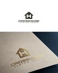 Crosswise Custom Homes Logo - Entry #2
