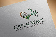 Green Wave Wealth Management Logo - Entry #262