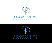 Aggressive Positivity  Logo - Entry #48