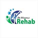 At Home Rehab Logo - Entry #96