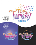 Topsey turvey tables Logo - Entry #44