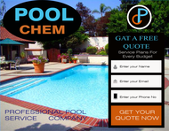 Pool Chem Logo - Entry #86