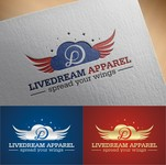 LiveDream Apparel Logo - Entry #468