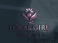 Local Girl Aesthetics Logo - Entry #180