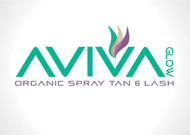 AVIVA Glow - Organic Spray Tan & Lash Logo - Entry #116
