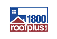 1-800-roof-plus  , i am also going to be using 1800roofplus.com for materials Logo - Entry #17