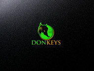 DONKEYS Logo - Entry #3