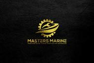 Masters Marine Logo - Entry #268
