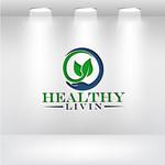 Healthy Livin Logo - Entry #608