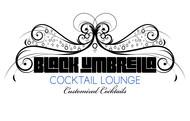 Black umbrella coffee & cocktail lounge Logo - Entry #196