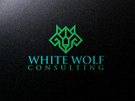 White Wolf Consulting (optional LLC) Logo - Entry #464