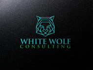 White Wolf Consulting (optional LLC) Logo - Entry #457