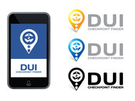 DUI Checkpoint Finder Logo - Entry #16