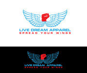 LiveDream Apparel Logo - Entry #473