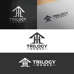 TRILOGY HOMES Logo - Entry #124