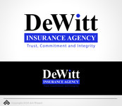 """DeWitt Insurance Agency"" or just ""DeWitt"" Logo - Entry #95"