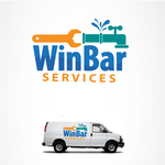 WinBar Services Logo - Entry #70