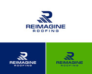 Reimagine Roofing Logo - Entry #65