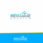 Reimagine Roofing Logo - Entry #217