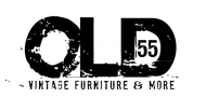 """""""OLD 55"""" - mid-century vintage furniture and wares store Logo - Entry #98"""