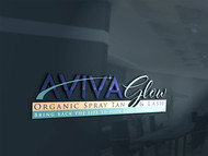 AVIVA Glow - Organic Spray Tan & Lash Logo - Entry #73