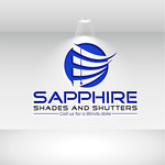 Sapphire Shades and Shutters Logo - Entry #146
