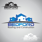 Bedford Roofing and Construction Logo - Entry #46