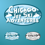 Chicago Jet Ski Adventures Logo - Entry #12