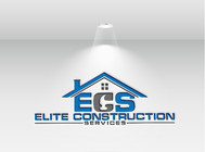 Elite Construction Services or ECS Logo - Entry #94