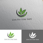 Live Fit Stay Safe Logo - Entry #62