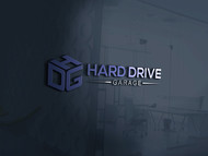 Hard drive garage Logo - Entry #184