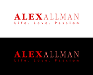 Alex Allman Logo - Entry #52