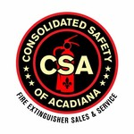 Consolidated Safety of Acadiana / Fire Extinguisher Sales & Service Logo - Entry #28