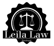 Leila Law Logo - Entry #100
