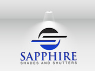 Sapphire Shades and Shutters Logo - Entry #160