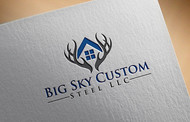 Big Sky Custom Steel LLC Logo - Entry #3