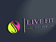 Live Fit Stay Safe Logo - Entry #166