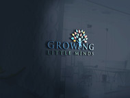 Growing Little Minds Early Learning Center or Growing Little Minds Logo - Entry #35