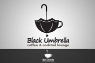 Black umbrella coffee & cocktail lounge Logo - Entry #107