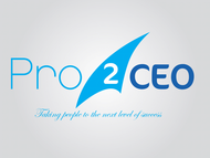 PRO2CEO Personal/Professional Development Company  Logo - Entry #123