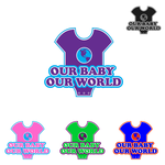Logo for our Baby product store - Our Baby Our World - Entry #11