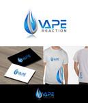Vape Reaction Logo - Entry #158