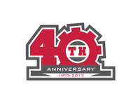 40th  1973  2013  OR  Since 1973  40th   OR  40th anniversary  OR  Est. 1973 Logo - Entry #42