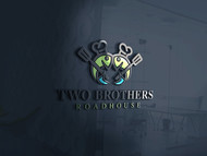 Two Brothers Roadhouse Logo - Entry #86