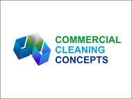 Commercial Cleaning Concepts Logo - Entry #40