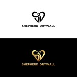 Shepherd Drywall Logo - Entry #180