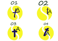 Silvia Tennis Academy Logo - Entry #153