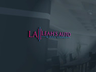 Leah's auto & nail lounge Logo - Entry #158